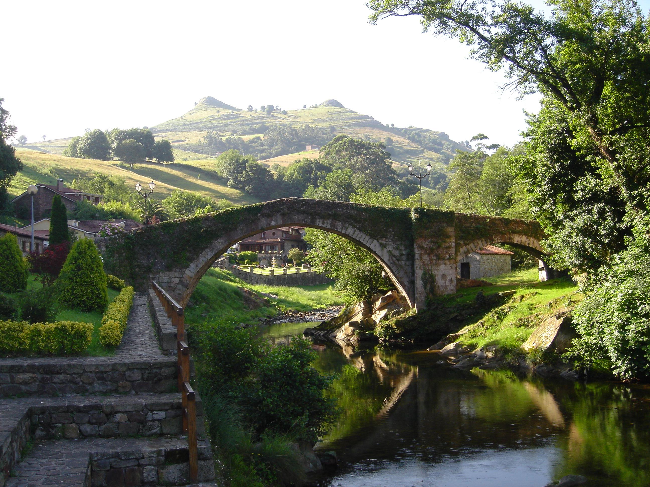 Puente Mayor de Liérganes del siglo XVII